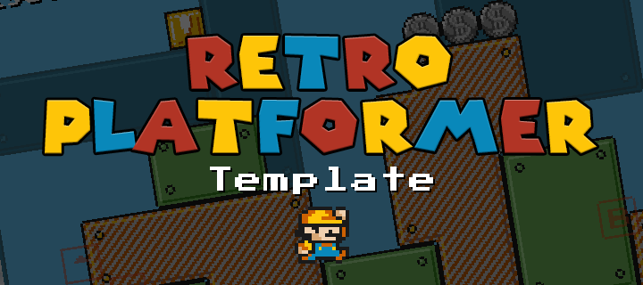 Super Mario Style HTML5 Game Template